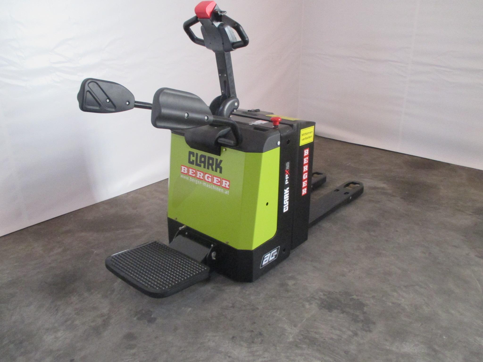 clark ppx 20 elektro hubwagen gabelstapler gebraucht. Black Bedroom Furniture Sets. Home Design Ideas